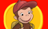 Link to Curious George on PBS Kids website