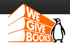 We Give Books logo
