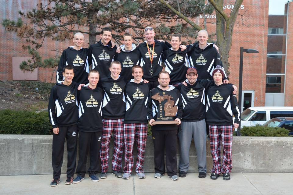 DHS Girls Swim and Dive State Championship Photo
