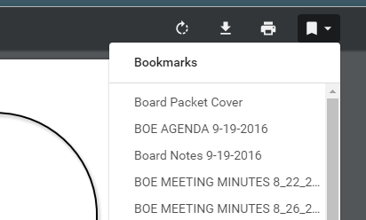 visual aid to find chrome bookmarks