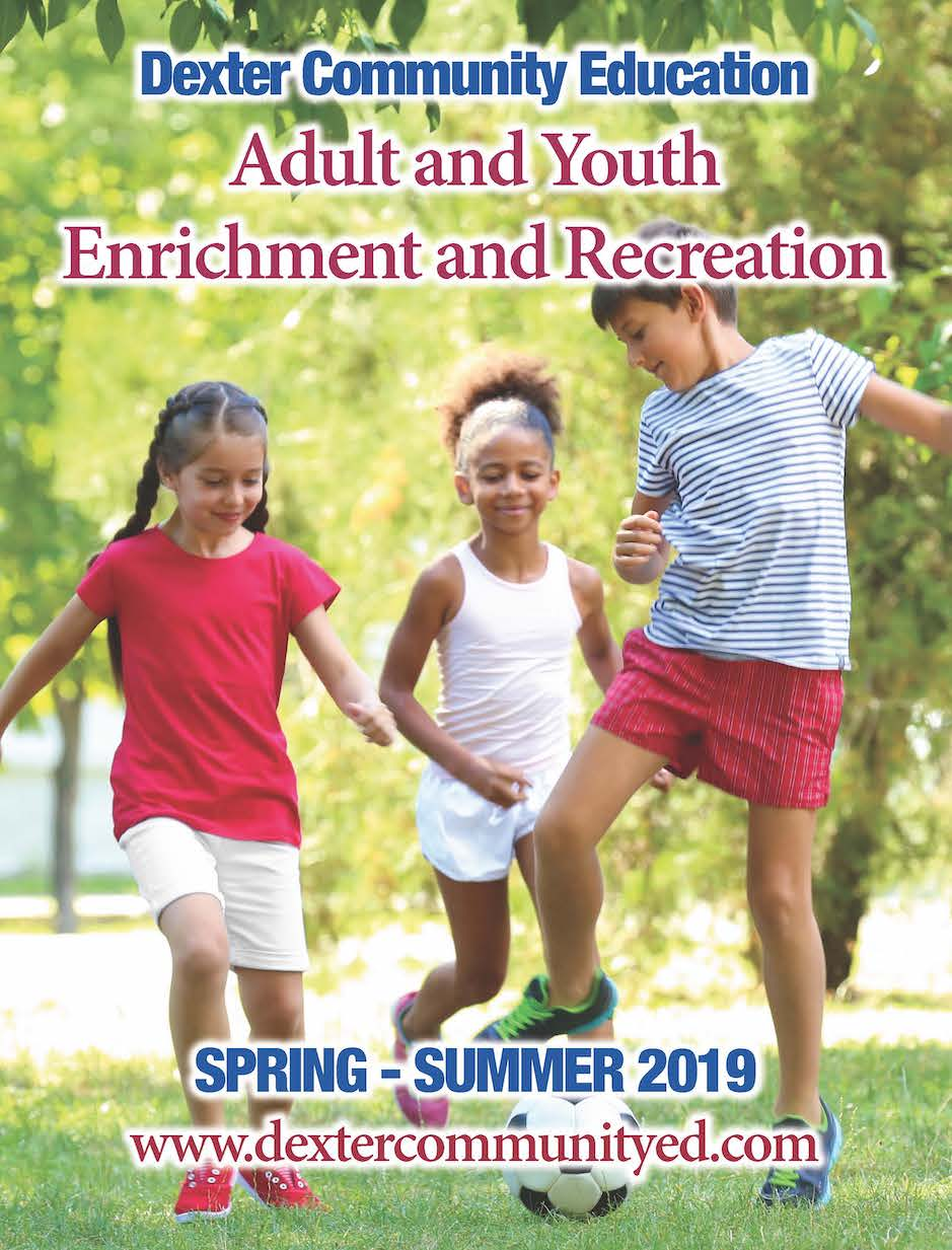 Community Education catalog cover