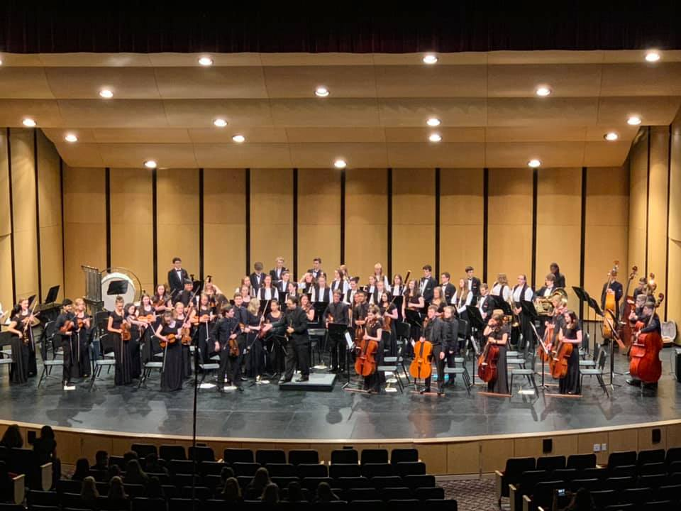 Dexter High School Orchestra at the CPA
